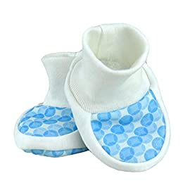 8039790129d For Babies – Baby Booties Newborn Socks for Girls and Boys – 100% Organic  Cotton – Made in EU
