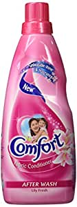 Comfort After Wash Lily Fresh Fabric Conditioner, 800 ml