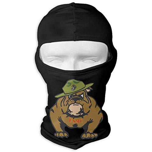 Jxrodekz Marine Corps Bulldog USMC Logo Anti Staub Gesichtsmasken Für Männer Frauen Outdoor Sports - Usmc Headwrap