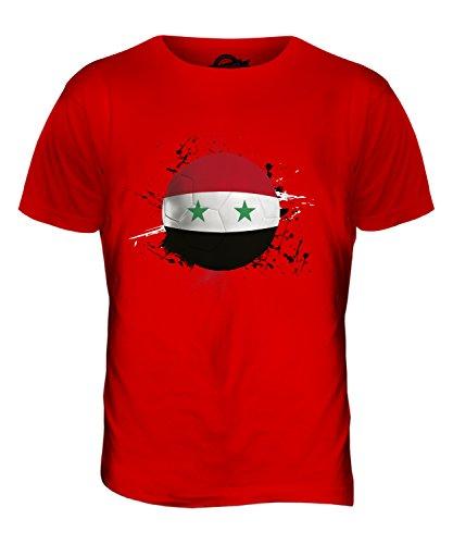 CandyMix Syrien Fußball Herren T Shirt Rot