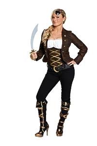 Rubbies - Disfraz de pirata para mujer, talla 38 (1 3670 38)