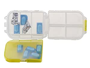 Miamour Plastic Pills Storage Box, Small
