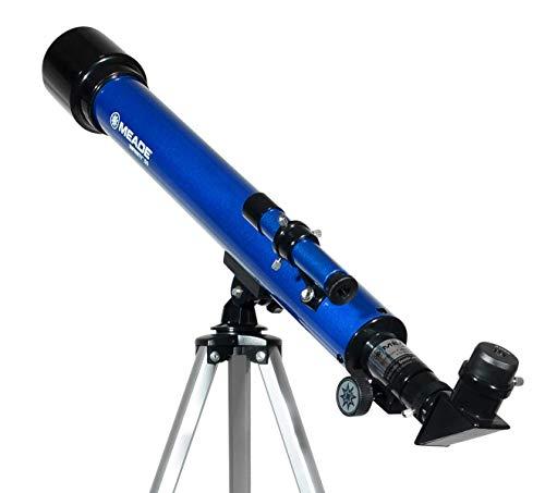 Meade Instrumente Infinity 50AZ Refraktor Teleskop, Metallic Blau (Live Stargazing)