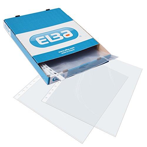 Elba 400005366 - Caja 100 fundas polipropileno