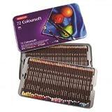 Derwent: Coloursoft Bleistift: Metall Dose Set von 72