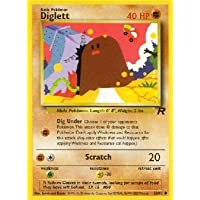 Diglett - Team Rocket - 52 [Toy]