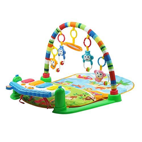 Baby Kick and Play Piano Gym, Tapete de juego para bebés recién...