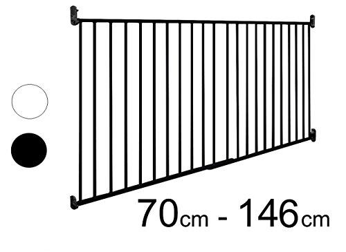 ASTORIA - XXL Barrera seguridad para puertas/escalera | 70-140 cm