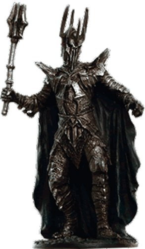 Lord of the Rings Señor de los Anillos Figurine Collection Nº 161 Sauron -9 cms 1