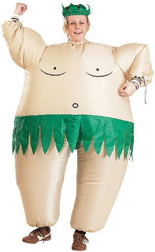 """Preisvergleich Produktbild Playtastic Selbstaufblasendes Kostüm """"Dschungelmann"""""""