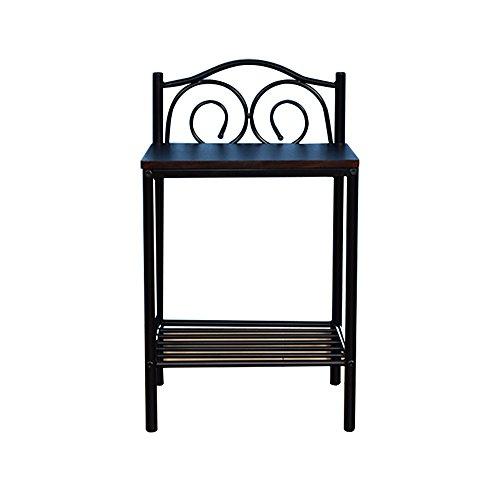 tables de chevet Chambre à coucher Table de chevet Table à manger en bois massif Table basse à fer à repasser ( Couleur : C-40.5*33*69.5 )