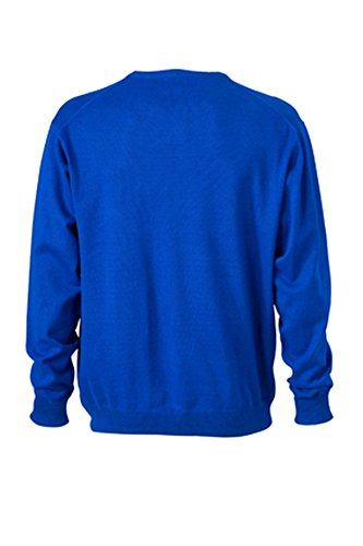 Men's V-Neck Cardigan im digatex-package Royal