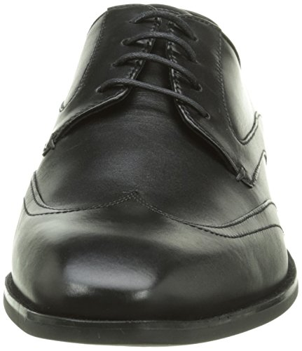 Geox U New Life B, Chaussures Lacées Homme Schwarz (BLACKC9999)