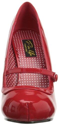 Pleaser PinUp Couture CUTIEPIE-02 Damen Pumps, Rot (Red pat), EU 37 (UK 4) (US 7) -