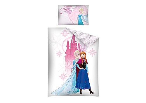 Frozen Disney–Juego de cama para bebé (funda nórdica de algodón