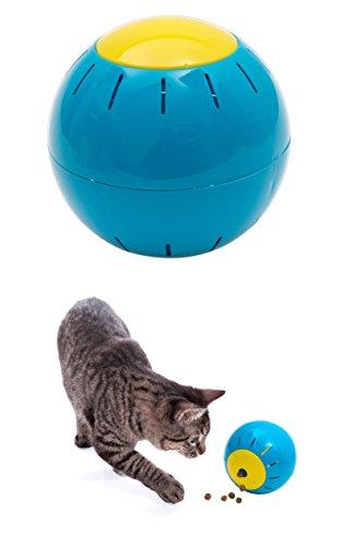 Gardigo Futter-Spielball, verteilt Leckereien Spielend, 12,5 cm Durchmesser
