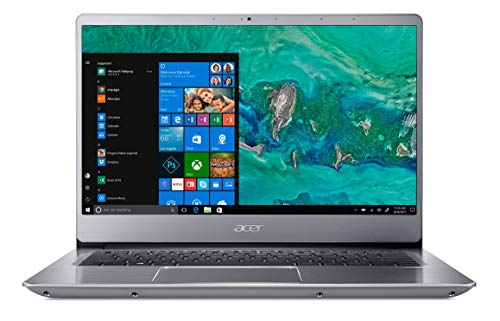 Acer Swift 3 SF314-54 14-inch FHD Thin and Light Notebook (8th Gen Intel Core i5-8250U Processor/8GB/512GB/Windows 10 Home 64 bit/Integrated Graphics), Sparkly Silver