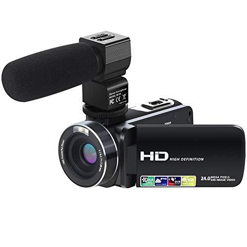 Unbekannt HD-Digitalvideokamera HD-Touchscreen SLR-Kamera Nachtsichtkamera Digitale Flip-Screen-Kamera (Slr-kamera Flip Screen)