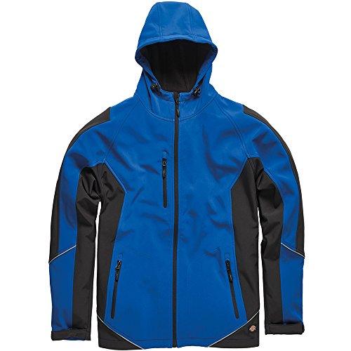 Preisvergleich Produktbild Dickies Softshell-Jacke, 1 Stück, XL, royalblau/schwarz, JW7010 RBBXL