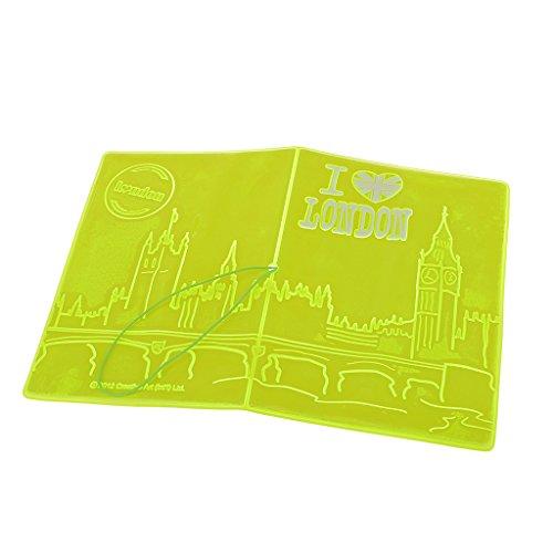 Preisvergleich Produktbild Mode Fluoreszenz Paßhalter Kastenabdeckung Reisebrieftasche 14