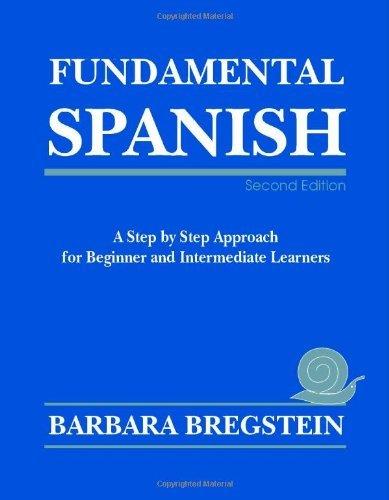 Fundamental Spanish by Barbara Bregstein (2006-07-06)