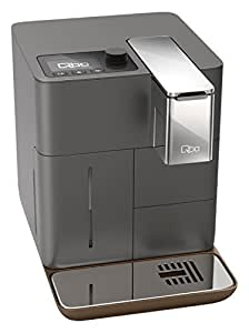 Qbo You-Rista – Kaffeekapselmaschine für Caffè Crema, Espresso und Caffè Grande (19 Bar, 1500 Watt) Urban Grey