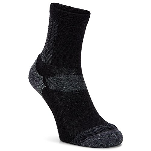 Preisvergleich Produktbild Ecco Midweight Außen Crew Socken - Schwarz - EU 42-44 (UK 8-10)