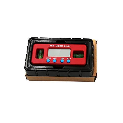 Digitaler Winkelmesser Neigungsmesser, Mini-digitalpegel, Starke Adsorptionskapazität, Vierfach-ein-tasten-umschaltung, Datensperrmodus, Hochpräzise Doppelhorizontale Blase