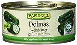 Rapunzel Dolmas Weinblätter gefüllt mit Reis, Projekt, 3er Pack (3 x 280 g) - Bio