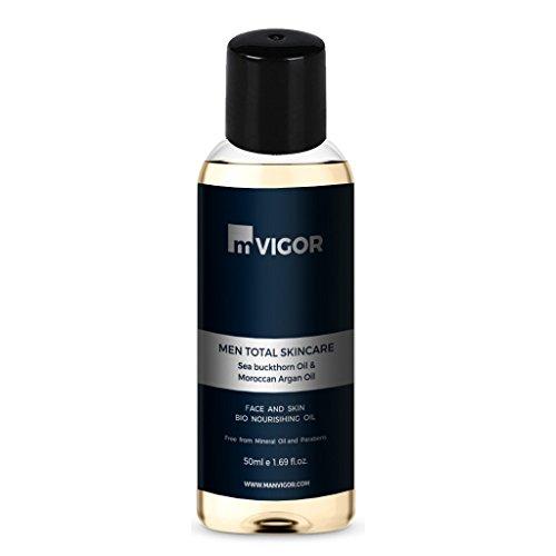 mVIGOR Men Total Skincare Face and Skin Bio Nourishing Oil 50 ml