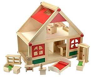 Beluga Spielwaren GmbH 70131 casa de muñecas - Casas de muñecas (390 mm, 390 mm, 270 mm, Juego de Muebles)