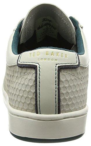 Ted Baker Slowne 2, Baskets Basses homme Blanc - Blanc