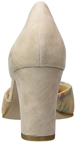 Caprice 22401, Scarpe con Cinturino alla Caviglia Donna Beige (Beige Su.multi)