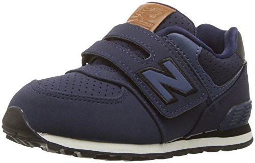 New Balance KV574YTY, Zapatillas Infantil, Azul (Blue/Black), 30 EU