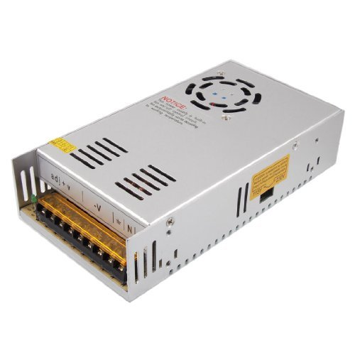 SODIAL(R) AC 110 / 220V DC 12V 30A 360W Fuente de alimentaci¨®n conmutada Converter para la luz de tira flexible del LED
