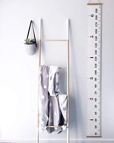 Repuhand Kinder Messlatte Wachstum Wall Chart Höhe Diagramm Art zum Aufhängen Herrscher für Kinder Schlafzimmer Kinderzimmer Wandtattoo Decor Abnehmbare Höhe und Wachstum Diagramm