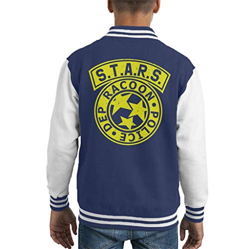 Cloud City 7 Resident Evil STARS Police Logo Kid's Varsity Jacket