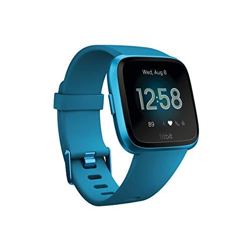 Fitbit Versa Lite Reloj Inteligente, Adultos Unisex, Azul Marino/Aluminio, Talla única