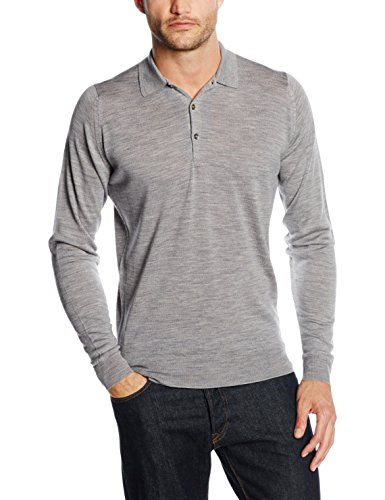 john-smedley-tyburn-pull-col-a-boutons-manches-longues-homme-grey-silver-x-large