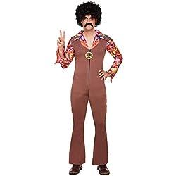 Disfraz de hippy para hombre (talla única)