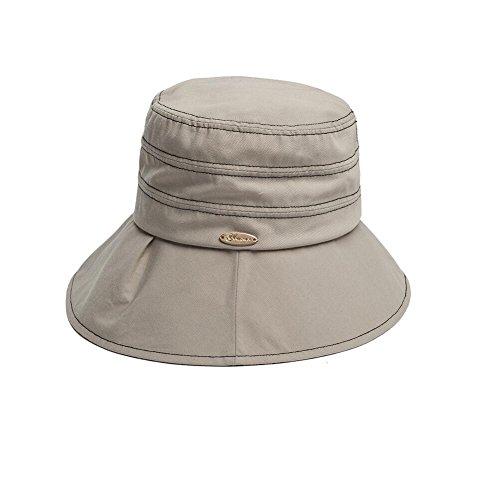 YXINY Sonnenhüte Sonne Hut UPF 50 Gehen Buchse Angeln Breit Rand Trekking Boonie Outback Wandern Deckel Damen Accessoires Hüte & Mützen (Farbe : 3)