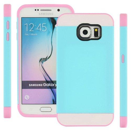 Semoss 2in 1TPU Schutzhülle Silikon Schutzhülle für Samsung Galaxy S6Edge