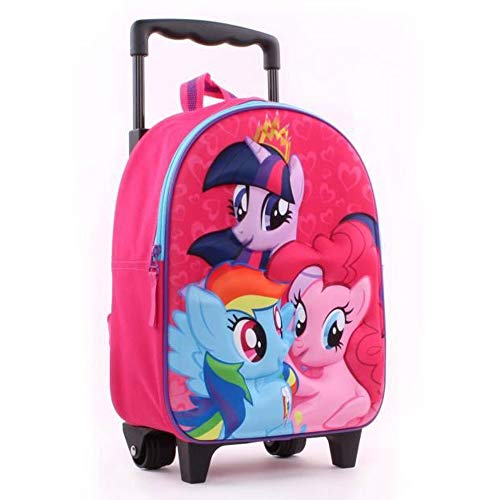 Vadobag My Little Pony Cutie Power 3D Trolley Rucksack (Pony-koffer My Little)