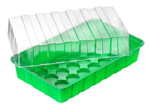 Connex Zimmergewächshaus 36 x 22 x 13 cm / Treibhauss / Pflanzenaufzucht / Mini-Gewächshaus / Anzuchtkasten /  FLOR79020