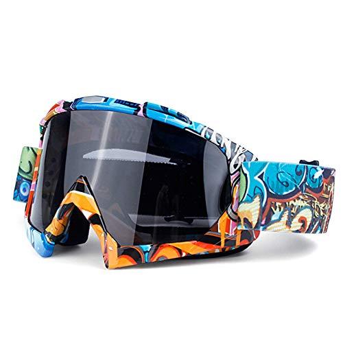 Coniea Motorradbrille Winddicht TPU Motorrad Brillen Herren Sport Sonnenbrillen Stil C