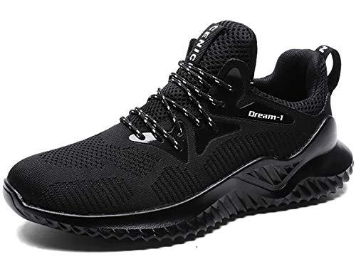 SINOES Zapatillas de Running Calzado Deporte para Hombre Mujer Gimnasio Ligero Sneakers