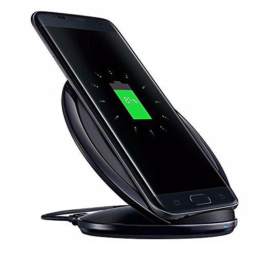 Caricabatteria-wireless-baiteng-Qi-caricatore-veloce-Wireless-Charger-stazione-di-ricarica-per-Samsung-S7S7-Edge-Nero