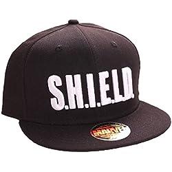 Marvel Agents of S.H.I.E.L.D. Logo Snapback Cap (Negro)