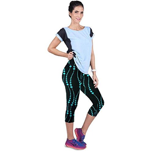 Pantalones mujer deporte Sannysis YOGA Pantalones Mallas para mujer (A