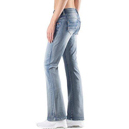 TIMEZONE Damen Bootcut Jeans used denim